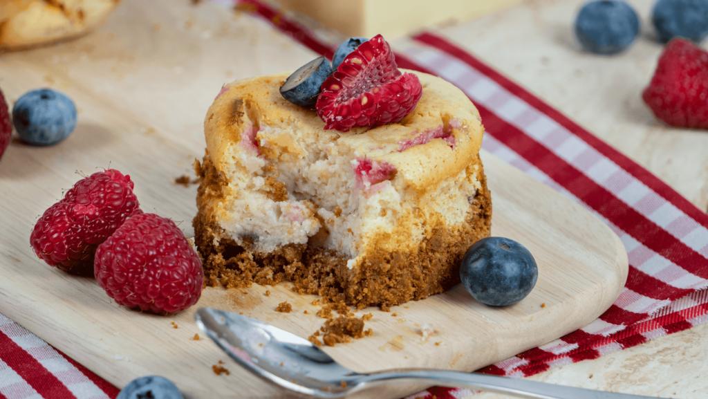 Rezept Mini White Chocolate Cheesecake