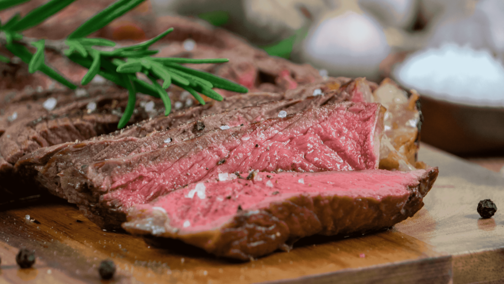 Steaks Medium Rare braten