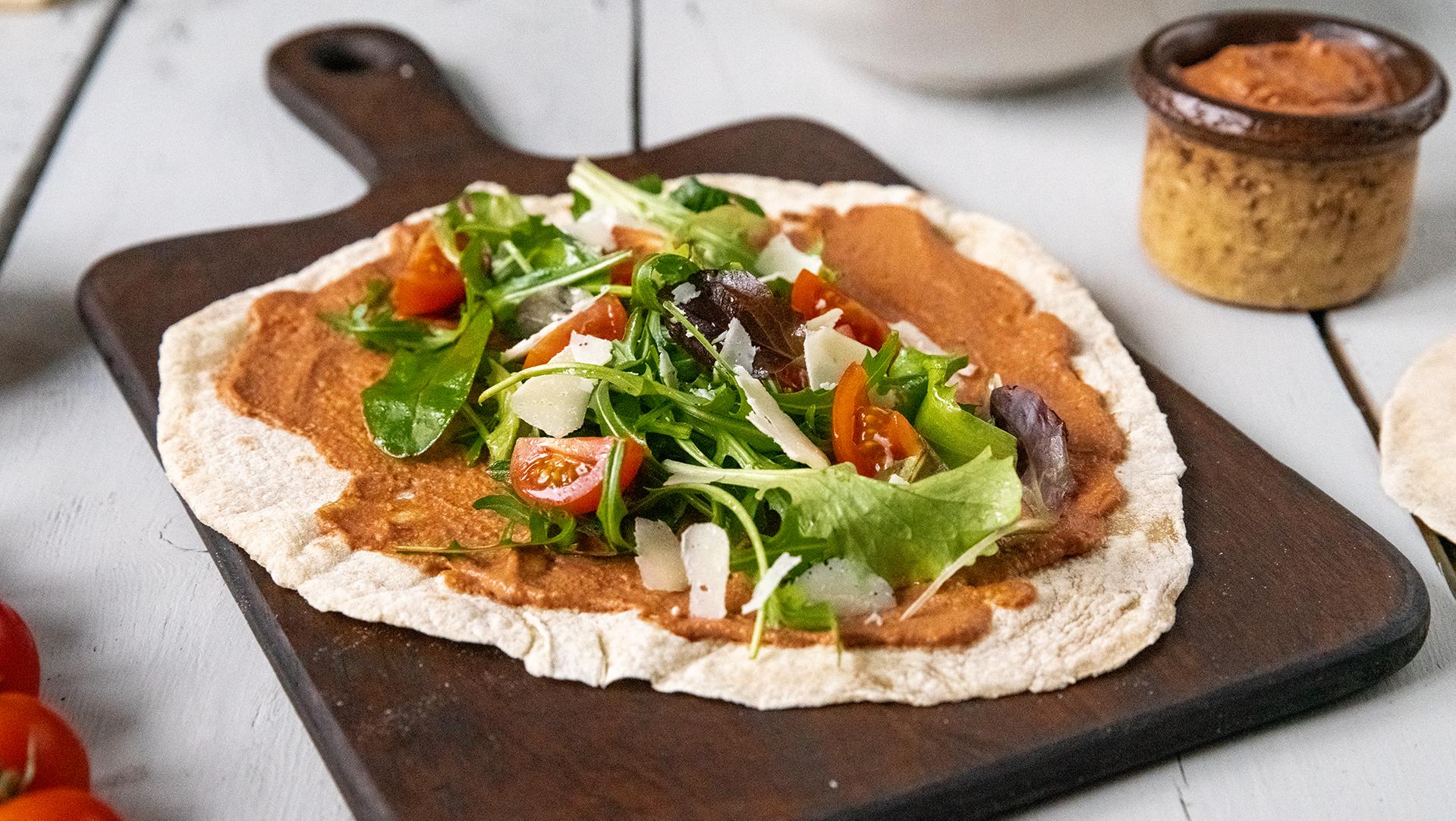Tortillas Close Up